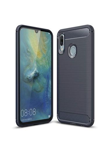 Microsonic Huawei P Smart 2019 Kılıf Room Silikon  Lacivert